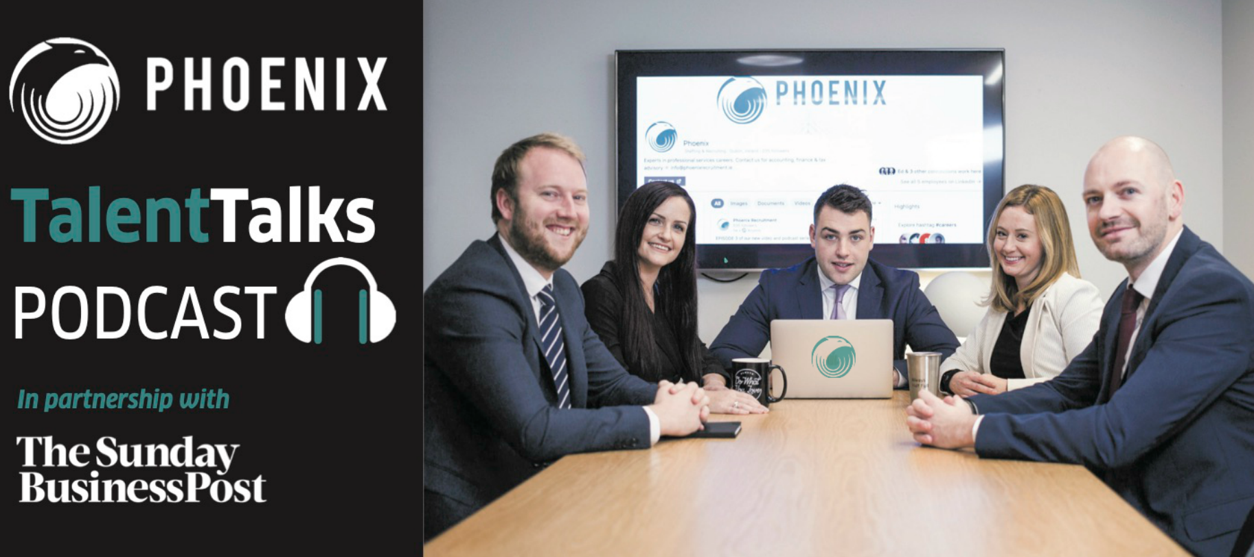 Phoenix Talent Talks in partnership with The Sunday Business Post